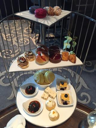 Afternoon tea at St. Regis Bangkok