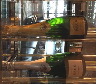 Krug Champagne decoration at St Regis Bangkok's Drawing Room