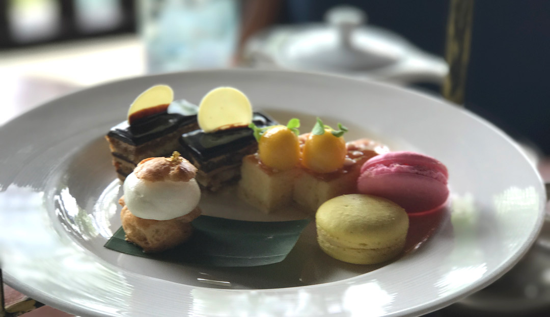 a sweet selection from the afternoon tea